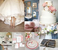 Colonial-Blue-Pink-Gold-Fall-Wedding-Inspiration