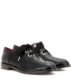 Marc Jacobs Patent Leather Oxford Shoes For Spring-Summer 2017