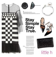 """""""Stay True by Little h Jewelry"""" by littlehjewelry ❤ liked on Polyvore featuring Valentino, Christian Louboutin and Gianvito Rossi"""