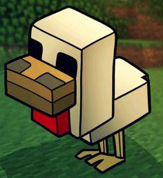 Image of: Steve How To Draw Minecraft Chicken Step By Step Video Game Characters Pop Pinterest 17 Beste Afbeeldingen Van Tekenen Minecraft Characters How To