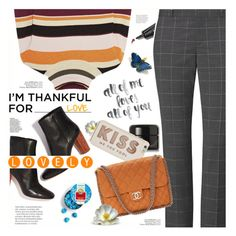 """""""Thankful for Love!"""" by angiesprad on Polyvore featuring Paul & Joe, Bobbi Brown Cosmetics, Kahina Giving Beauty, Kate Spade and Chanel"""