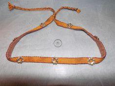 The silk woven headband. Made by Fraucymer