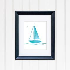 Check out this item in my Etsy shop https://www.etsy.com/listing/253090889/sailboat-watercolor-8x10-sailboat-art