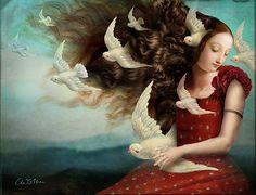 Memories 2 - Digital Artwork by : Catrin Welz-Stein