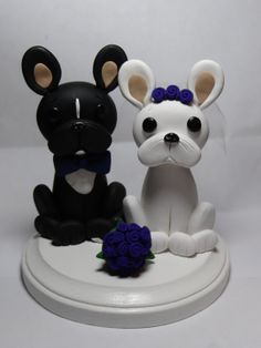 make french bulldog with fimo - Google Search