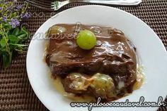Quer uma sobremesa simples e incrementada? Nada melhor que um delicioso Bombom de Uva com Chocolate Amargo! E aí ficou com água na boca?  #Receita aqui: http://www.gulosoesaudavel.com.br/2012/02/17/bombom-uva-chocolate-amargo/