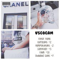 VSCO Cam Filter Settings for Instagram Photos | Filter