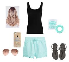 """set30"" by mujo-ziba ❤ liked on Polyvore featuring Twenty, Havaianas, Invisibobble and Agent 18"