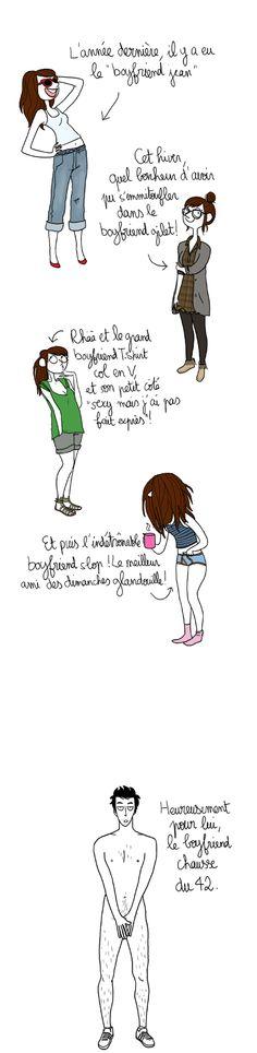 """La mode """" boyfriend"""" ou piquer les habits de son homme... / By Pénélope Jolicoeur."""