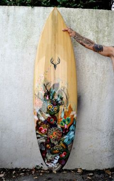 Awesome surf board