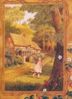 In the world of fairy tales illustrator Shirley Barber (49 photos)