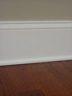 wide baseboard trim