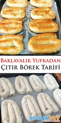 Bouquet of vegetables with parsnip muslin - Healthy Food Mom Borek Recipe, Gluten Free Pastry, Homemade Pastries, Flaky Pastry, Iftar, Turkish Recipes, Snacks, Vegetable Recipes, Good Food