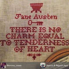 modernfolkembroidery:  @emma_crews' progress on the Tenderness of Heart pattern. Love following the progress!  Modern Folk Embroidery provides #CrossStitch #patterns and #materials inspired by centuries of #ArtsAndCrafts