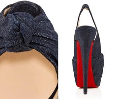louboutin shoes replica - 11) Mens Harvanana Denim Loafer with Embroidered Louboutin ...