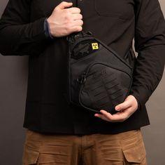 Tactical EDC bagSling crossbody packErgonomic holster | Etsy