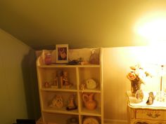 Added bedroom up in attic space. We had plenty of vintage furniture. French Country Bedrooms, Attic, Vintage Furniture, Space, Loft Room, Floor Space, Attic Rooms, Spaces
