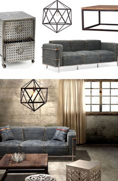 Industrial Chic Furniture & Décor