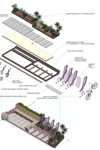40th Street Parklet in Oakland, CA by designpad architecture