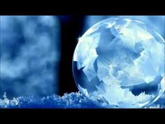 Frozen Soap bubbles @ -15 degrees Celsius.  And the snowflakes that float inside!  Just beautiful.
