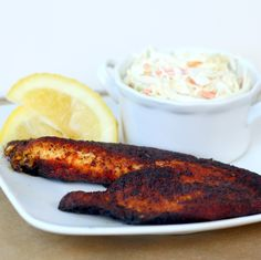 A Bitchin' Kitchen: Blackened Tilapia