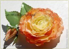 Добрый день, Страна Мастеров! Сегодня у меня розы двух сортов, а именно роза Confetti и роза Latin Lady. Давно хотела сделать розу с тонировкой и розу с реверсивными лепестками. Сегодня имею честь предстваить вам результат моей работы. Итак, первая роза почти со сладким названием Конфетти собственной персоной...  фото 1