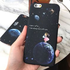 $1,68-1,94 Case - http://ali.pub/rw7t2 AliExpress cool nice cool fashion girl look good moon pretty moonlight style Korea Japan Case for iPhone