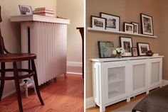 for radiator by the stairs...pictures!