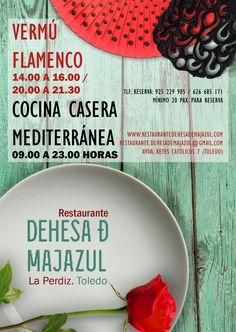 Anverso flyer flamenco Dehesa de Majazul