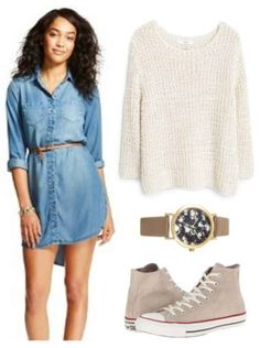 Fabulous Find of the Week: Target Chambray Shirtdress - College Fashion