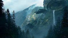 http://danart.cgsociety.org/art/art-photoshop-environment-mandelbulb-3d-fractal-artist-digital-landscape-mountains-ballisticpublishing-cfe-expose12-structure-fantasy-2d-1353479