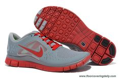 newest 8f03e 6ad81 Latest Listing Cheap Nike Free Run 3 Wolf Grey Gym Red Mens The Most  Flexible Shoes