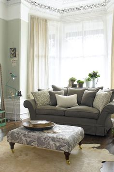 Girly Greys - Living Room Ideas, Furniture & Designs - Decorating Ideas (houseandgarden.co.uk)
