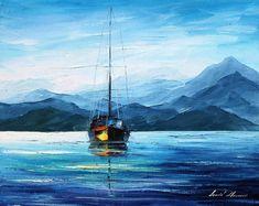 Fresh Morning — PALETTE KNIFE Oil Painting On Canvas by AfremovArtStudio, $199.00