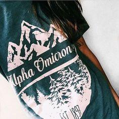 ITS ME!!!!! Alpha Omicron Pi   AOII   Mountain Design   Vintage T-Shirt Design   Script Design   Outdoor Inspired   Outfit Inspiration   South by Sea   Greek Tee Shirts   Greek Tank Tops   Custom Apparel Design   Custom Greek Apparel   Sorority Tee Shirts   Sorority Tanks   Sorority Shirt Designs