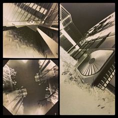 Some of my college #photography with Pinhole cameras (The classic 'stick some paper in a roses tin and poke a hole in it' kind) (As requested by followers as a #throwbackthursday kinda thing) #art