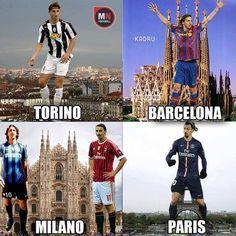 Zlatan all around the world