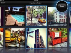 Instagram pics, Facebook pics, iPhoto pics and more, all in one happy place.