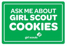 Girl Scout Cookie Thank You Clipart Scout Mom, Girl Scout Swap, Girl Scout Leader, Daisy Girl Scouts, Girl Scout Troop, Boy Scouts, Girl Scout Cookie Sales, Brownie Girl Scouts, Girl Scout Cookies