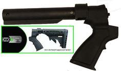 Ultimate Arms Gear Tactical Stealth Black Mossberg 500 590 835 Maverick 88 12 & 20 Gauge Shotgun Buffer Tube Featuring Patented Phoenix Kick...