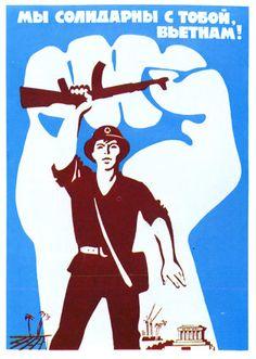 Soviet solidarity with Vietnam.