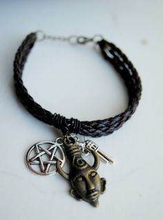 Dean Winchester Bracelet Supernatural Inspired by BeeesBeads, $14.00 #Etsy yeah really want this