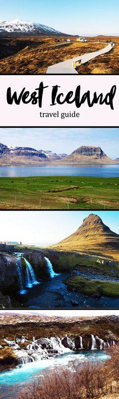A lot of people describe the Snaefellsness Peninsula as a mini version of Iceland, for it encompasses everything that makes Iceland so special: dramatic coastlines, lava fields, waterfalls, glaciers, and lunar-like landscapes.