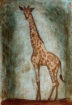 Maarit Kontiainen Kirahvi Giraffe