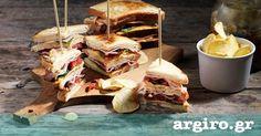 Club sandwich από την Αργυρώ Μπαρμπαρίγου | Το πιο νόστιμο και χορταστικό club sandwich που έχετε δοκιμάσει. Κάντε παραλλαγές ανάλογα με το γούστο σας!
