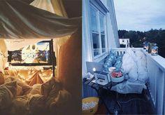 Planes románticos y baratos: cena + cine en casa