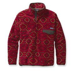 Patagonia pullover- aztec print or cream- Medium
