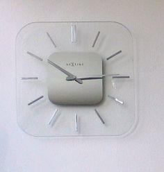 Designové nástenné hodiny  Nextime Liberty 35x35cm Clock, Wall, Design, Home Decor, Watch, Interior Design, Clocks, Home Interiors, Decoration Home