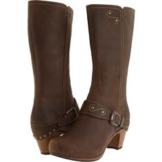 I think I may be in love with these boots... Dansko Rylan, avail. in Wide Width, $235 from Zappos.