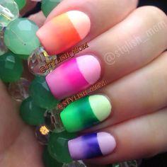 Instagram photo by  stylish_mom  #nail #nails #nailsart